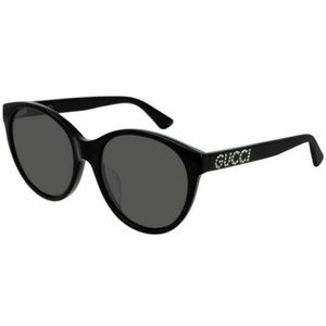 Gucci Oval Style Sunglasses W/Grey Lens